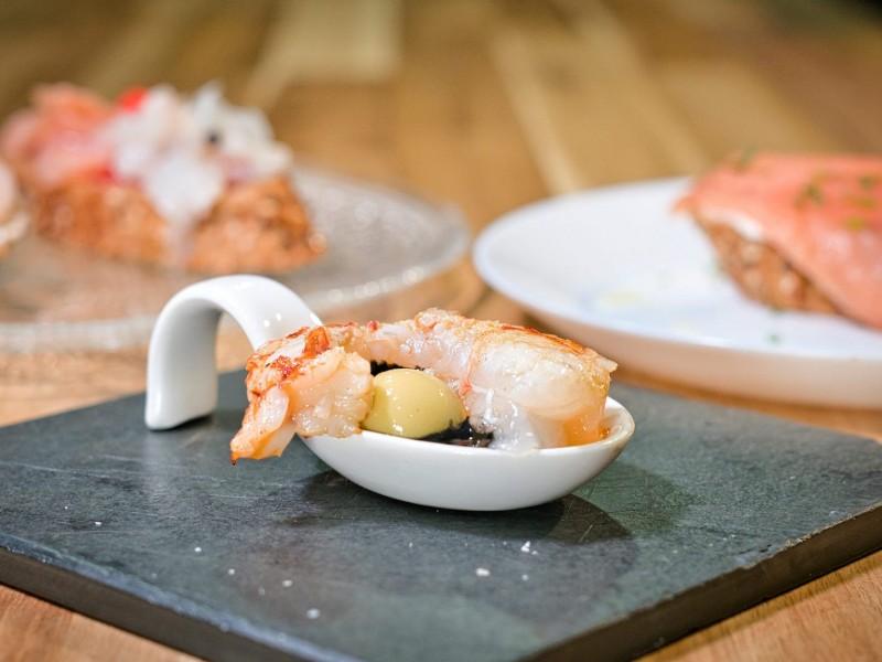 Syrah Gastropub Restaurant Terrassa Montaditos Menu